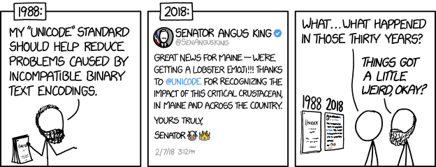"2048: ""Great news for Maine—we're once again an independent state!!! Thanks, @unicode, for ruling in our favor and sending troops to end New Hampshire's annexation. 🙏🚁🎖️"""