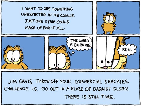 The use of the 'Garfield' character for the purposes of this parody qualifies as fair use under the Copyright Act of 1976, 17 U.S.C. sec. 107. See Campbell v. Acuff-Rose Music (92-1292), 510 U.S. 569